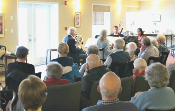 Musicians from the Calgary Philharmonic perform