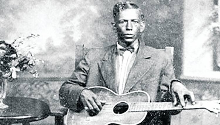 Blues legend Charley Patton