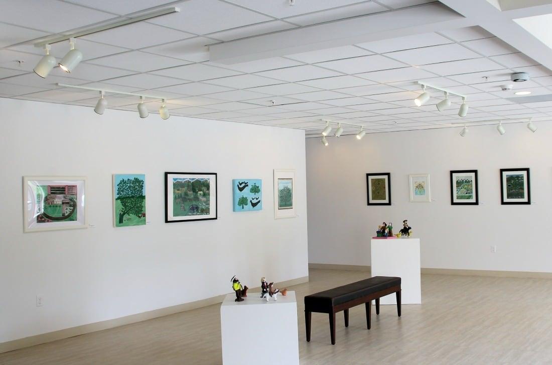 Fish Creek community art gallery