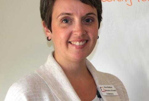 Kera Redlack, director of health and wellness