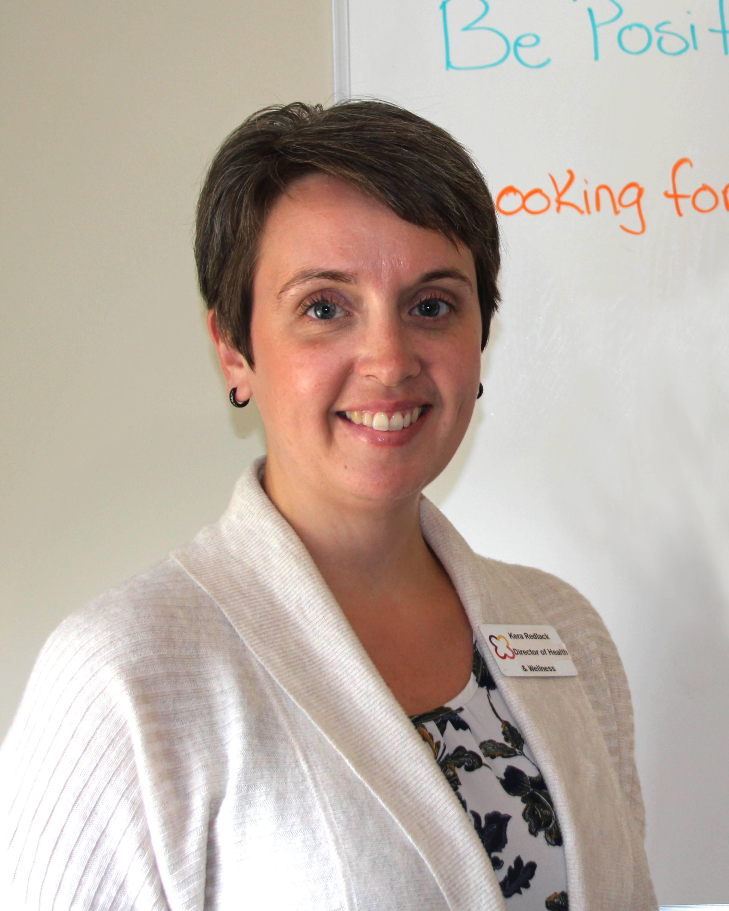 Kera Redlack, United's director of health and wellness