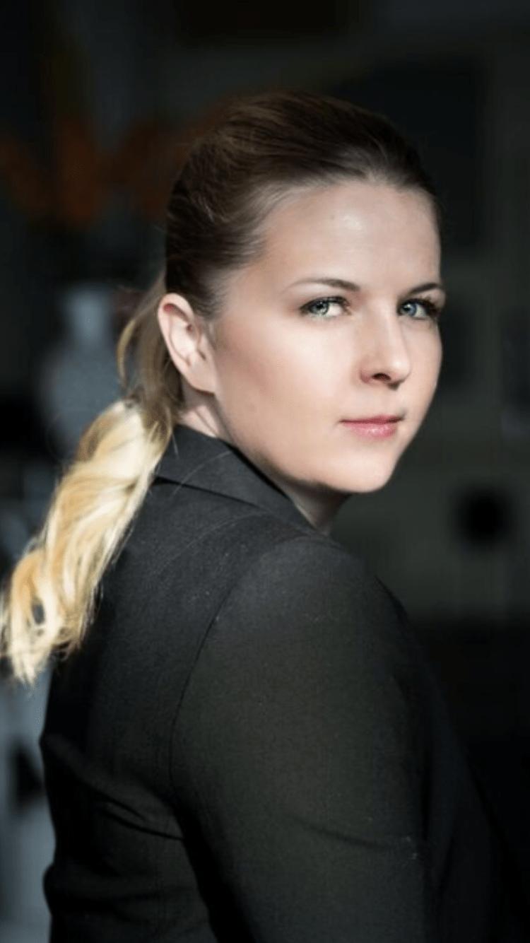 Calgary Opera's latest resident conductor, Kimberley-Ann Bartzcak.