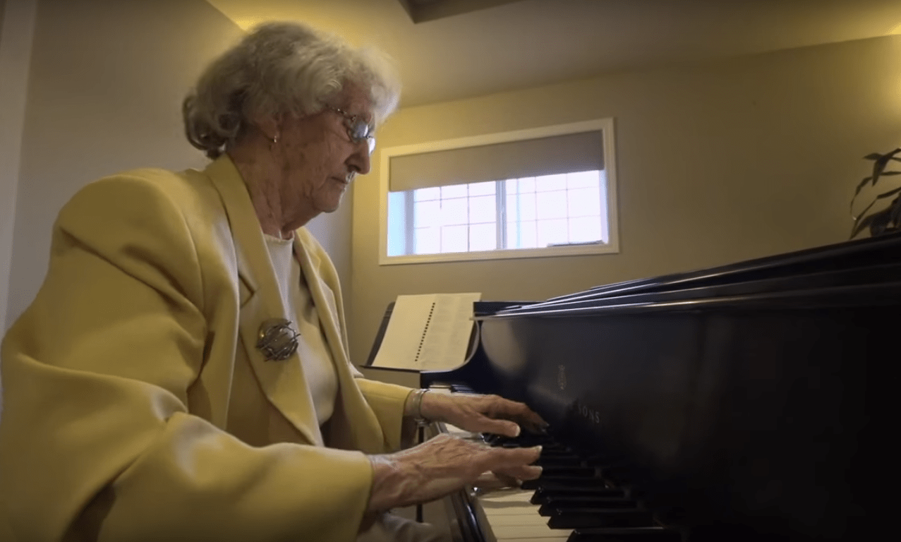 Mary Fenwick at Piano OP