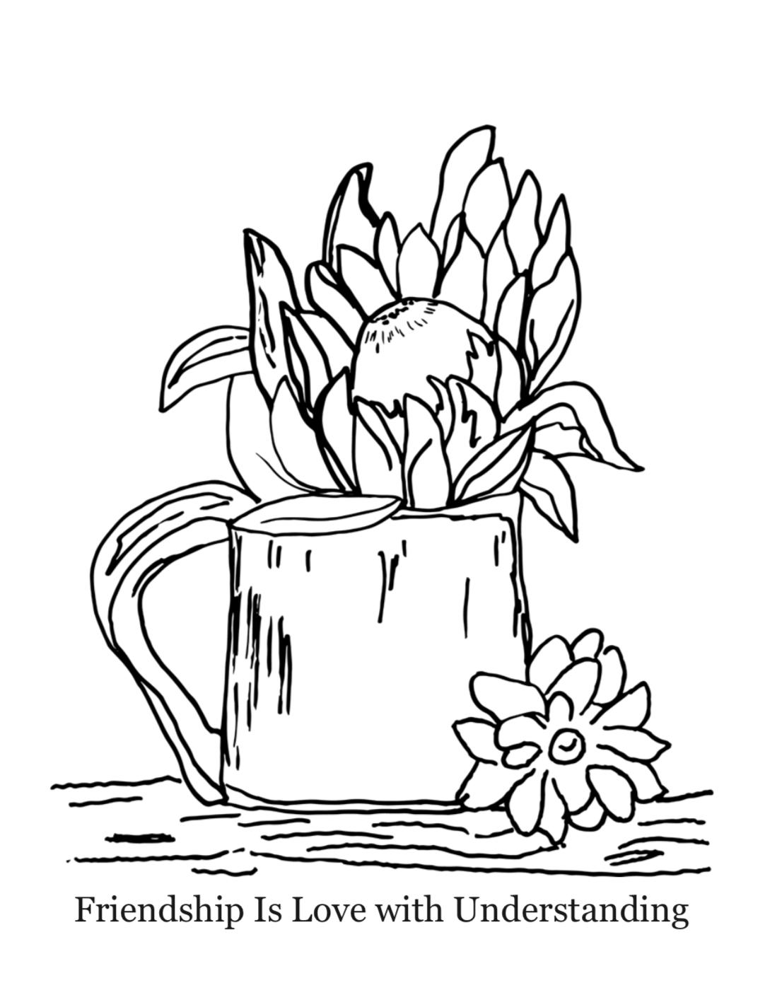 """""""Flowerpot"""" by Olive Hein"""
