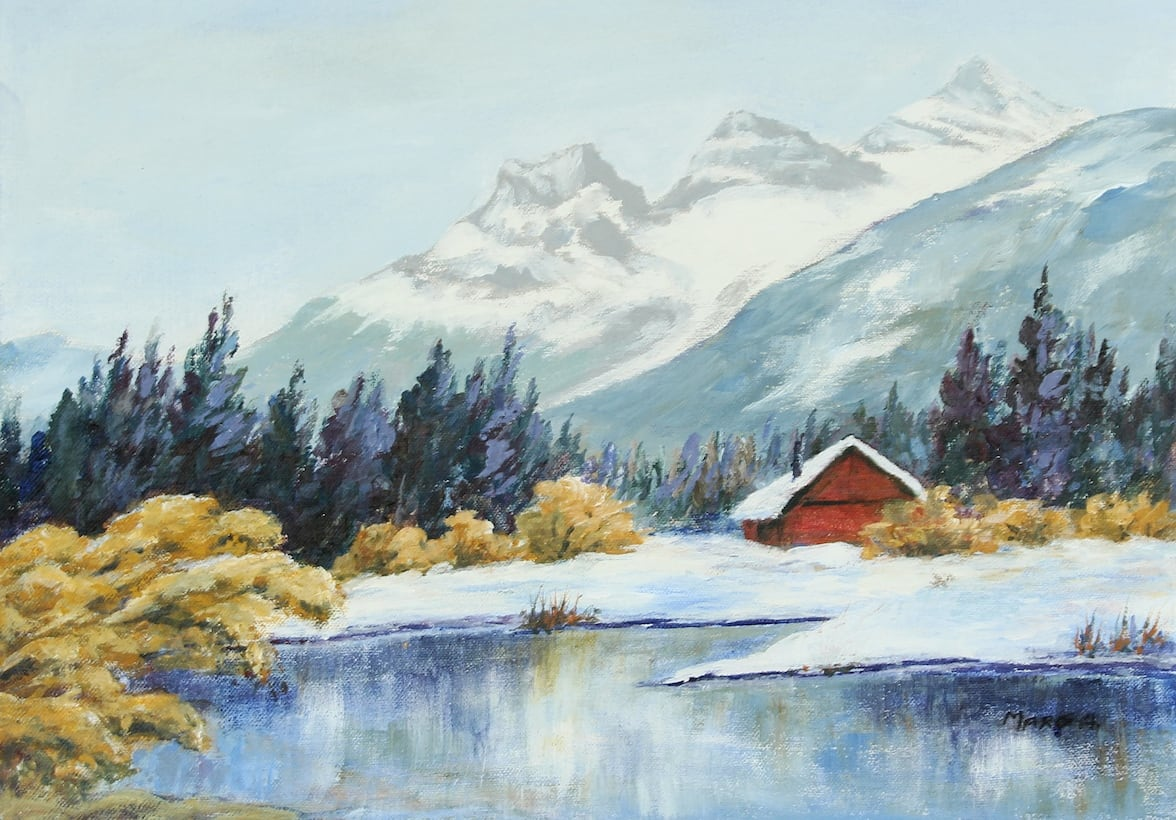 Early Snow, by Margaret Agnew