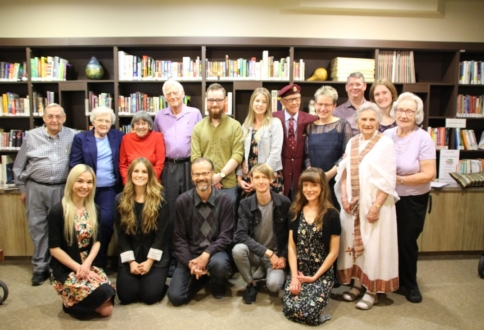 Writers in Residence group